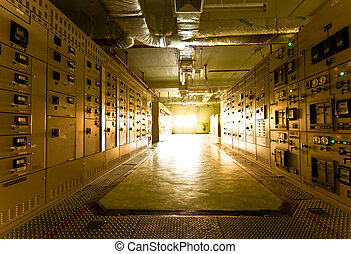 substation room