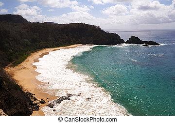 """substr(The """"Sancho Bay"""" in Fernando de Noronha, a paradisiac island off the coast of Brazil.,0,500)"""
