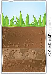 subterrâneo, ilustração