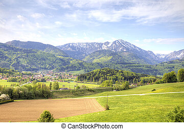 Suburb of Salzburg
