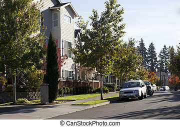 Suburban Condos - Recently built suburban condos in trendy...