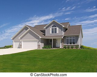 Suburban Home 1 - Home in development in Wisconsin