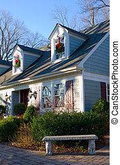 Suburban Home Front Corner