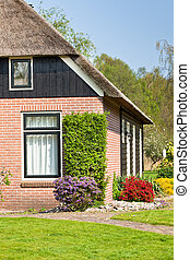 Suburban home view