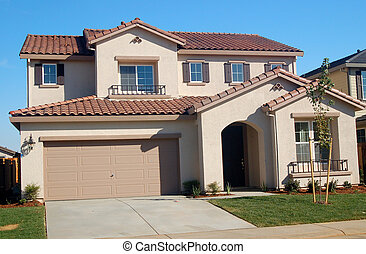 Suburban House - A house in the suburbs
