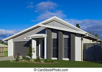 Suburban house - Australian suburban townhouse