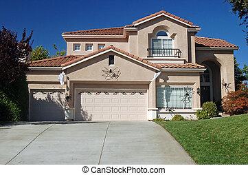 suburban house - house in the suburbs