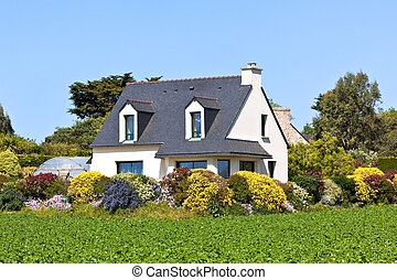 Suburban House in Western France