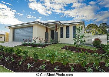 Suburban house - New suburban Australian townhouse