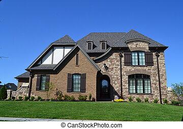 Suburban house - suburban house