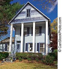 Suburban Maryland Single Family House Home Folk Victorian Greek