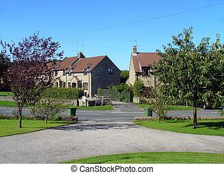 Suburban neighborhood England