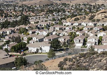 Suburban Southern California