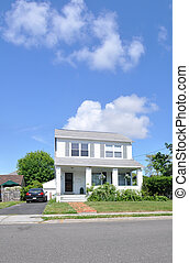 Suburban Two Story Home
