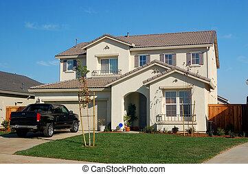 suburbano, casa