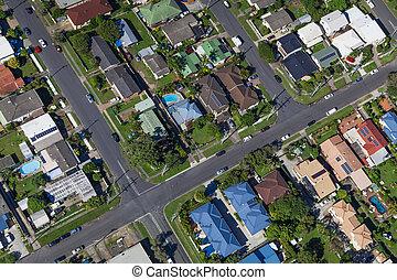 suburbano, casas