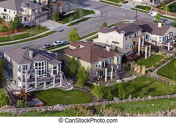Suburbia - Typical american suburban development.