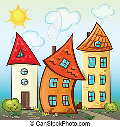 Suburbs and houses