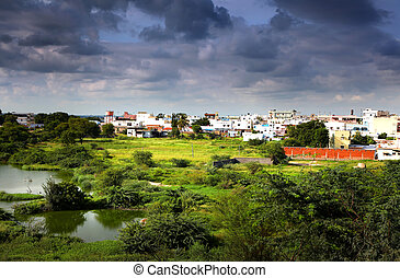 Suburbs of Hyderabad india