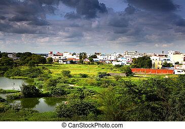 Suburbs of Hyderabad india