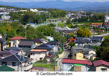 Suburbs of Nagoya city