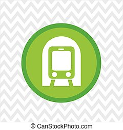 subway button icon design