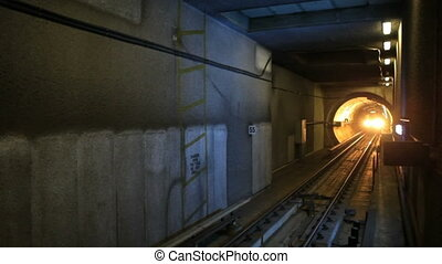 Los Angeles subway train