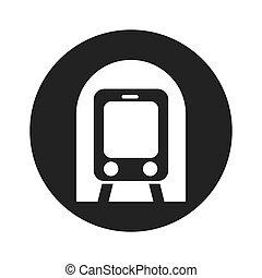 subway transport public icon