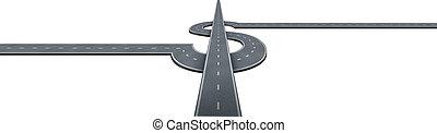 succès financier, autoroute