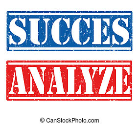 Succes and analyze stamps