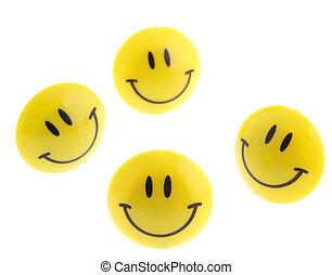 succes, resumen, -, aislado, icono, sonrisa