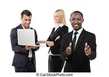 succesrige, team., firma