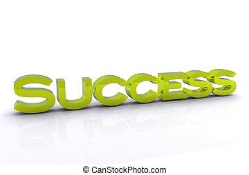 Success - 3D