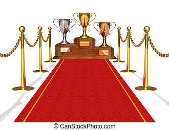Success and achievement concept