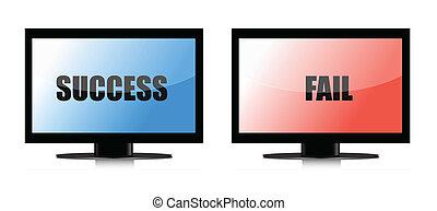 success and fail monitors