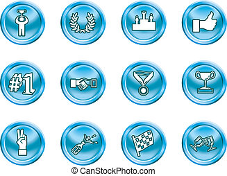 success and vctory icons