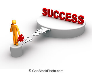 Success - Bridge to the sucess.