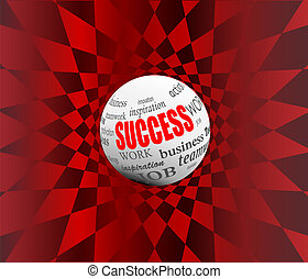 success business abstract motivation ball sphere vector ...