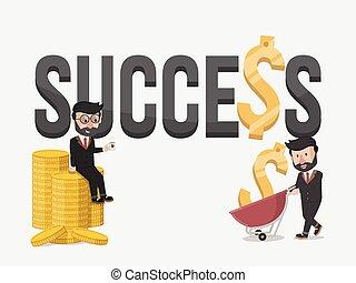 success business illustration conce