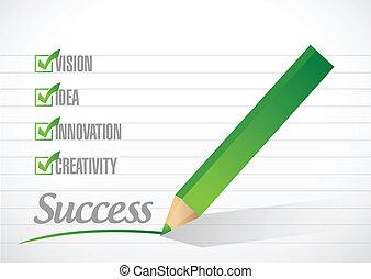 success check mark illustration design