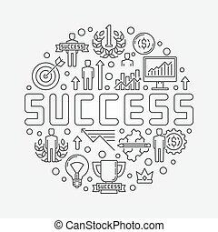 Success concept illustration