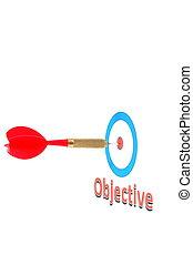success concept with dart arrow