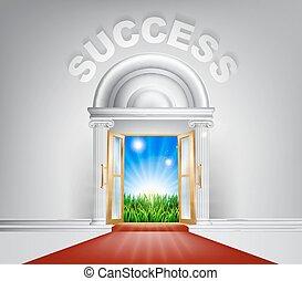 Success Door Concept