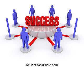 success., equipe
