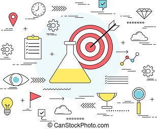 Success formula concept