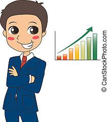 Success Growth Businessman