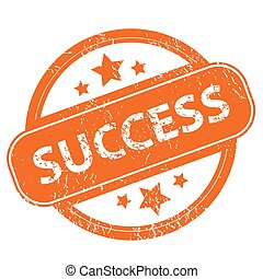 Success grunge icon