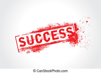 Success Grunge Text