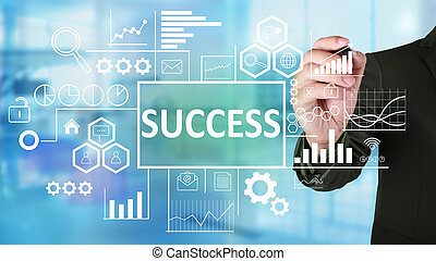 Success in Business Concept