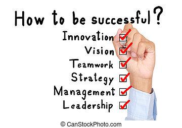 success is target